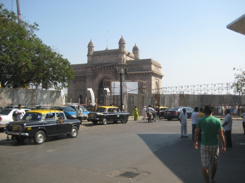 Gateway of India, built by the brits and finished in 1924.
