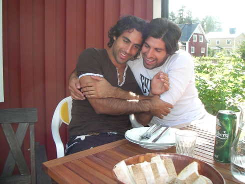 Me and my brother Andreas